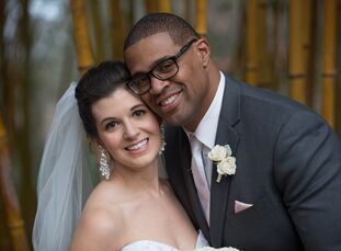 Catharine and Cory's wedding was both traditional and unique. The couple tied the knot on Valentine's Day surrounded by their closest friends and fami