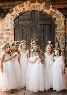 FATTIEPIE Gracelace Flower Girl Dress