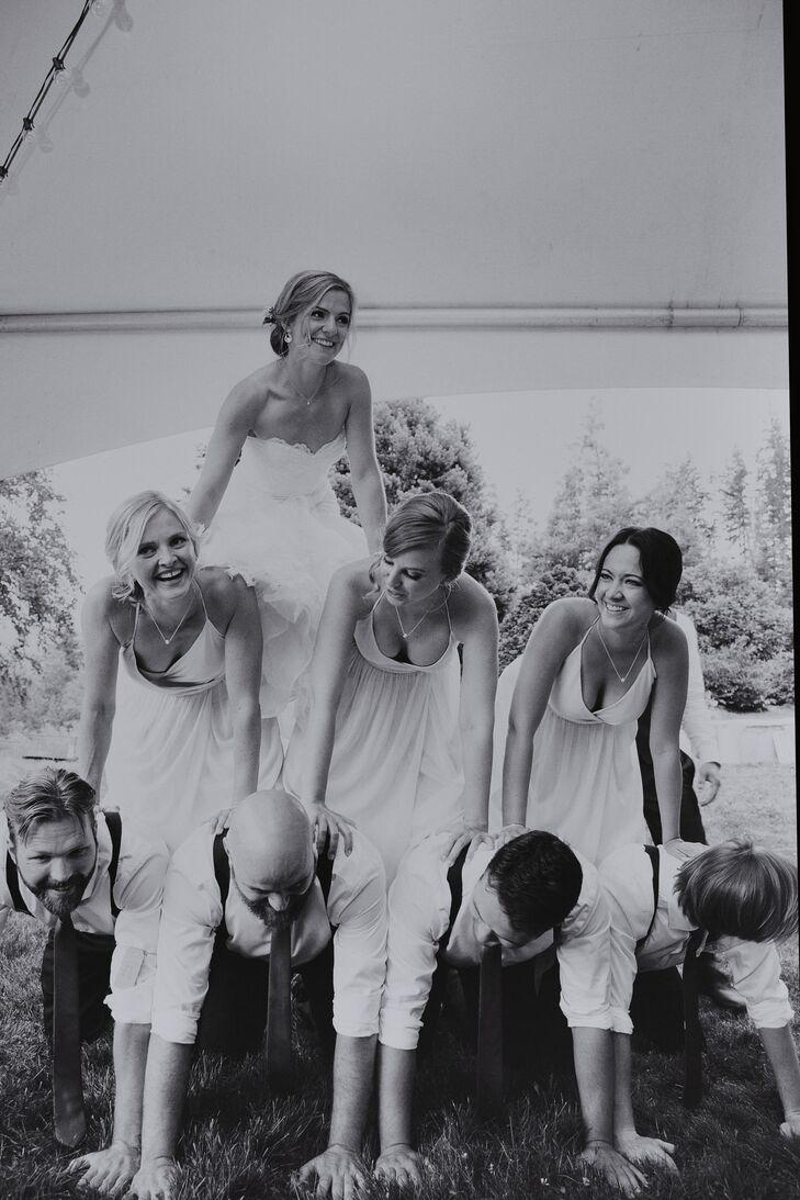 Wedding Party Pyramid