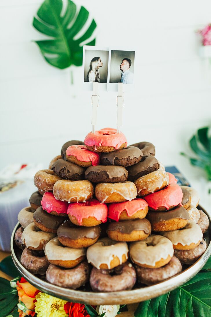 """""""Dessert included a selection of donuts and pies, which were provided by Bougie's Donuts and Tiny Pies,"""" says Jordyn. """"All so very good. We only wish we could have eaten more!"""""""