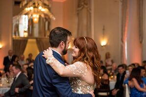 Traditional First Dance at the New Haven Lawn Club in New Haven, Connecticut