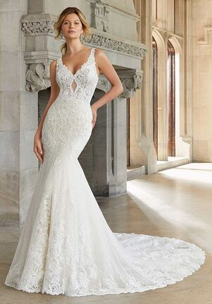 Morilee by Madeline Gardner Summer 2133 Sheath Wedding Dress