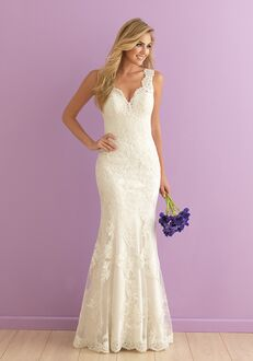Allure Romance 2901 Sheath Wedding Dress