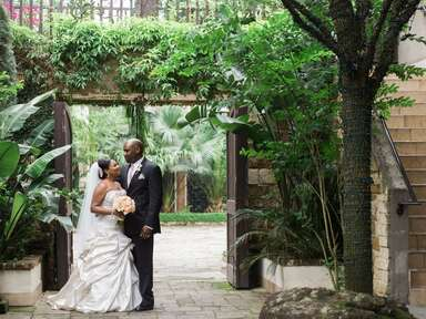 Wedding venue in Houston, Texas.