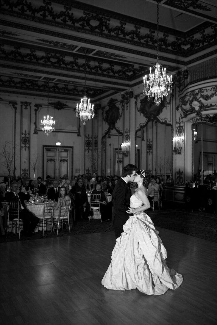 Ballroom First Dance, Nicole and Eric