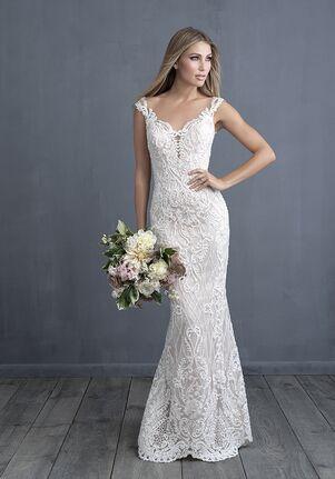 Allure Couture C489 Sheath Wedding Dress