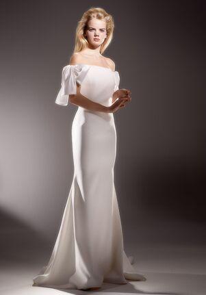 Viktor&Rolf Mariage BOW SLEEVE FIT AND FLARE Mermaid Wedding Dress