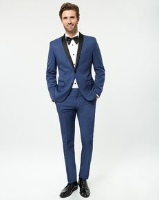 LE CHÂTEAU Wedding Boutique Tuxedos MENSWEAR_359917_019 Blue Tuxedo