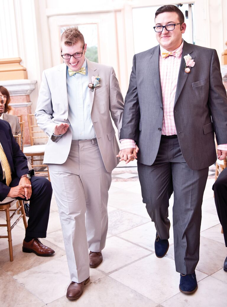 Grooms processional