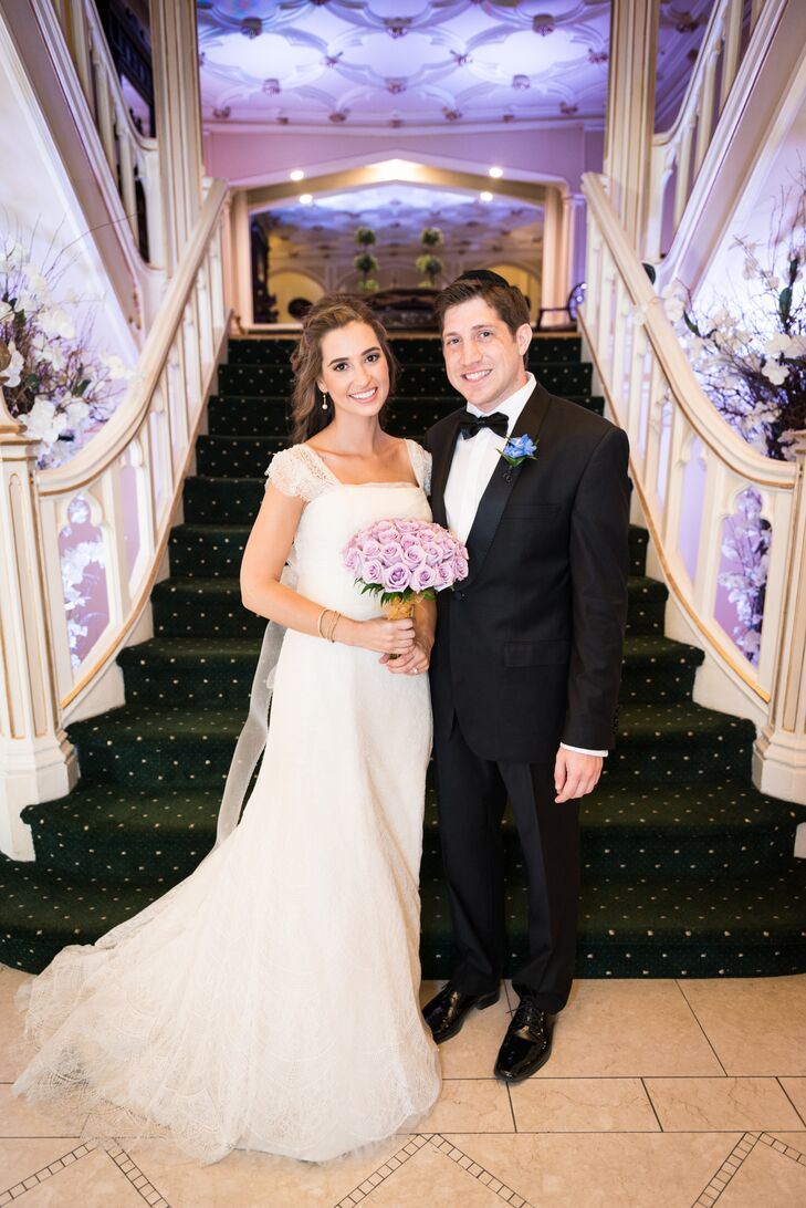 For Emma Goldman (26 and a nonprofit human rights professional) and Michael Goldberg's (28 and a lawyer) wedding, it was all about Jewish tradition an