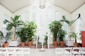 Minimal Ceremony at Piper Palm House in St. Louis, Missouri