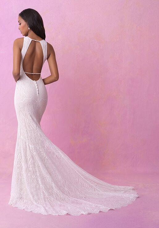 Allure Romance 3155 Sheath Wedding Dress