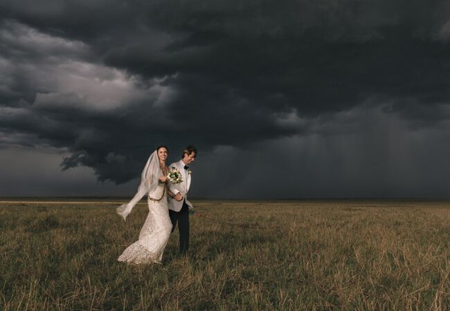 wedding couple in kenya | Jonas Peterson | The Knot blog