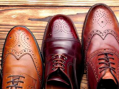 Shades of brown shoes