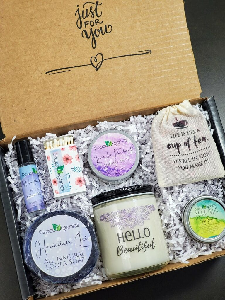 Self-care spa box 30th anniversary gift