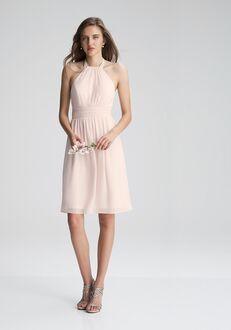 #LEVKOFF 7000 Halter Bridesmaid Dress