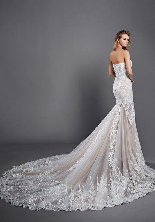 Calla Blanche 17109 Yasmine Sheath Wedding Dress