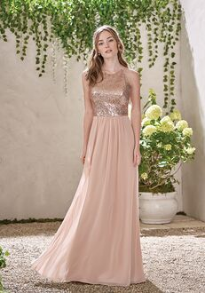 B2 Bridesmaids by Jasmine B193007 Bateau Bridesmaid Dress