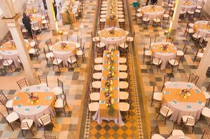 An Autumn-Colored Reception