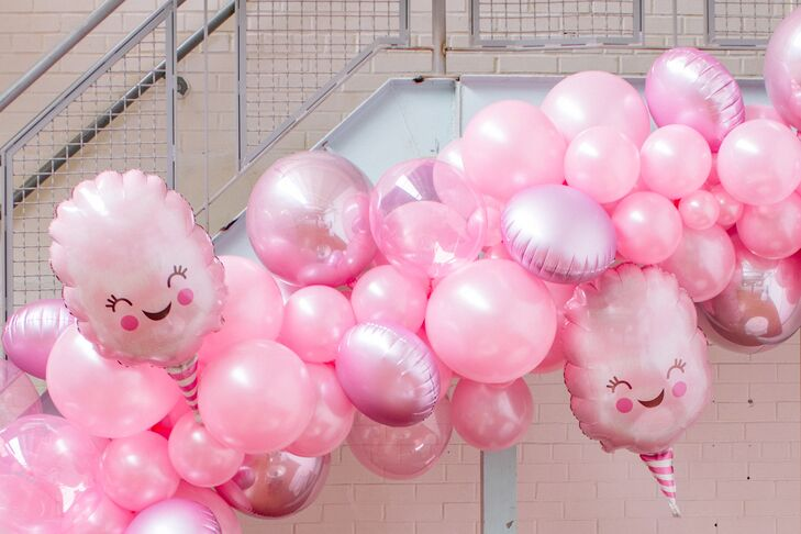 Modern Pink Balloon Decorations