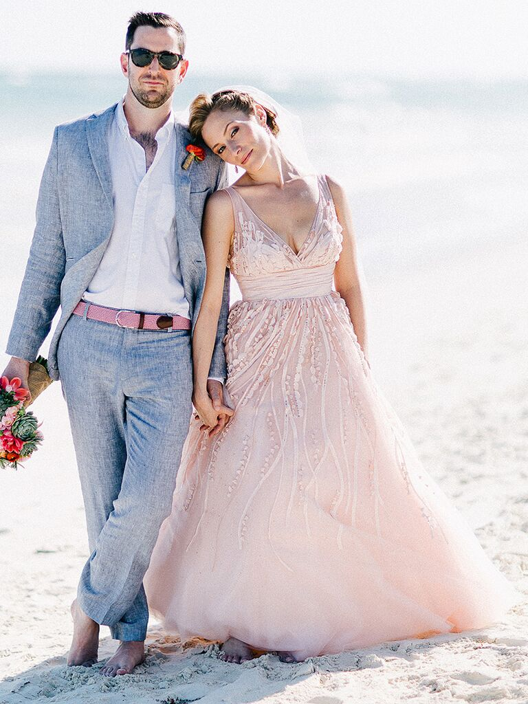 The prettiest blush and light pink wedding gowns blush pink wedding gown by watters junglespirit Images