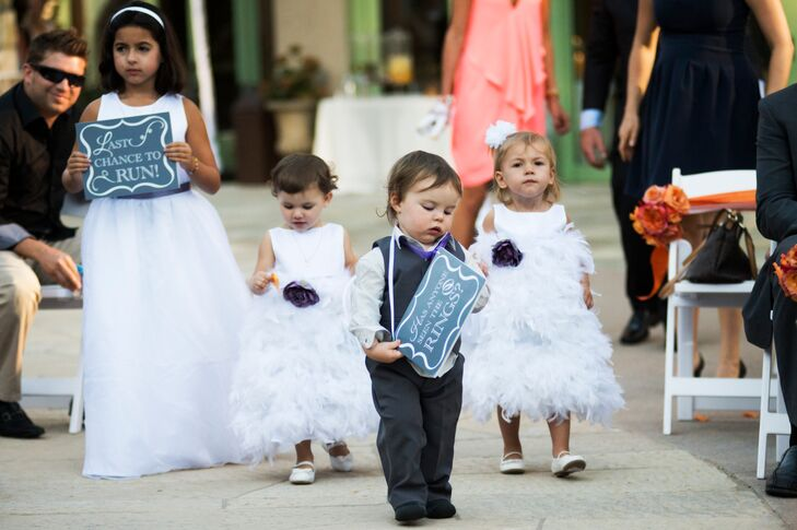 Has Anyone Seen The Rings Ring Bearer Sign