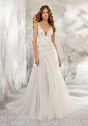 Morilee by Madeline Gardner/Blu 5681 / Leonita A-Line Wedding Dress
