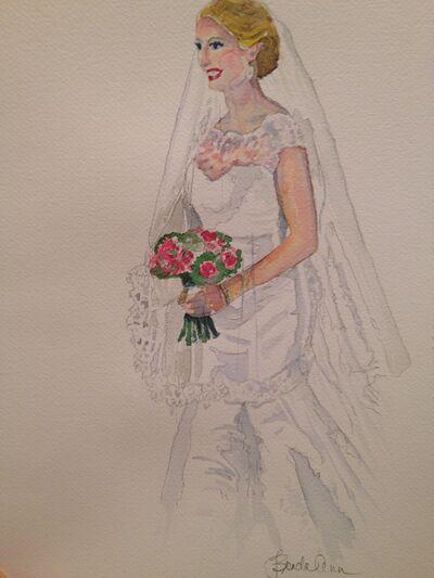Bridal Watercolors by Brenda Ann