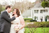 Jillian Rosich (28 and an internet marketing consultant) and Michael Kendrick (33 and a structural engineer) chose a vintage chic theme for their wedd