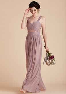 Birdy Grey Elsye Dress in Mauve Sweetheart Bridesmaid Dress