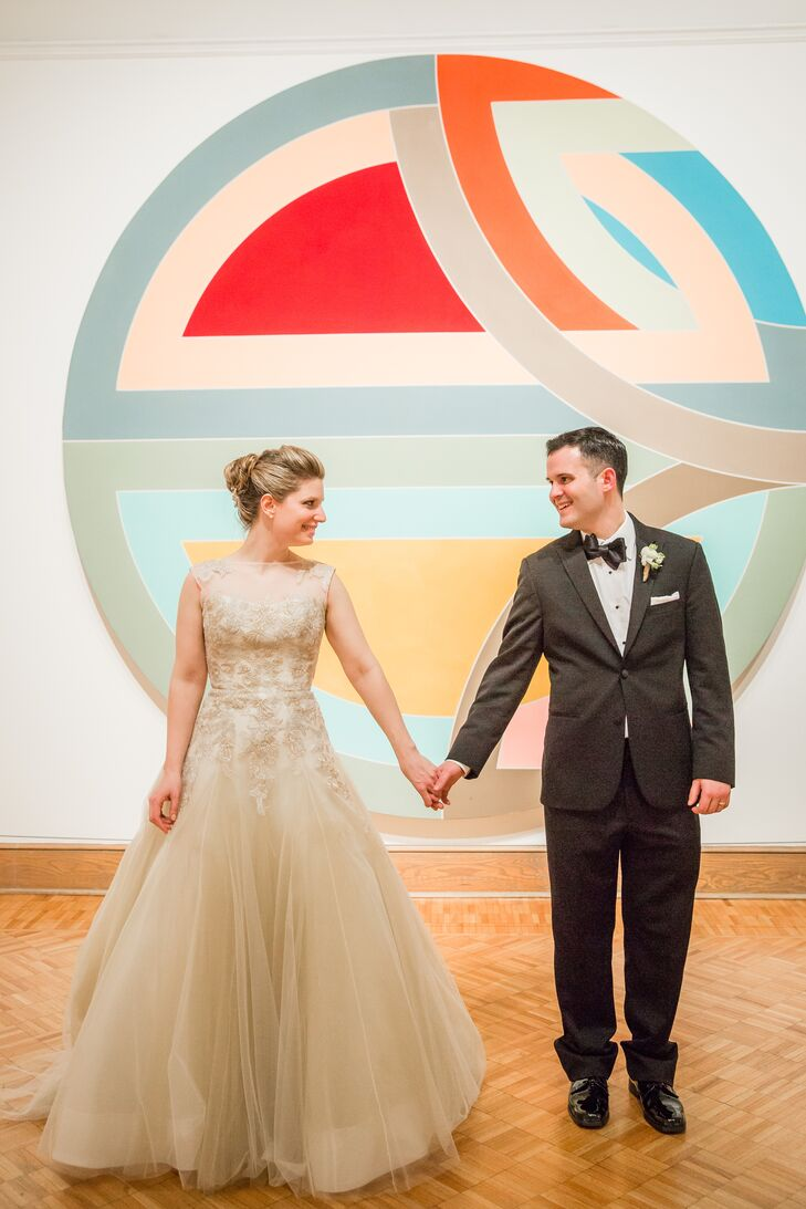 An Elegant, Classic Wedding at the Currier Museum of Art in