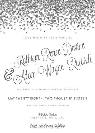 Weddings By Carue - Invitations