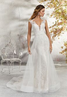 Morilee by Madeline Gardner/Blu 5689 / Lenore Sheath Wedding Dress