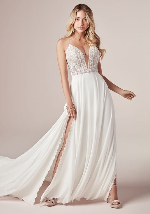 Rebecca Ingram NICOLE 20RS223 Sheath Wedding Dress