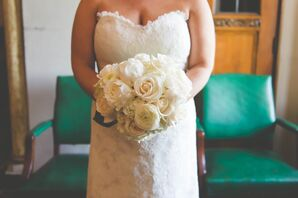 Ivory Rose and Ranunculus Bridal Bouquet