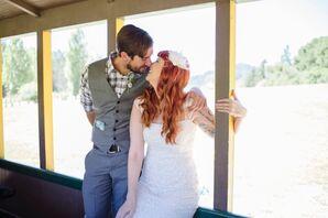 A Rustic, Vintage Wedding