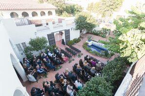 Darlington House Courtyard Ceremony