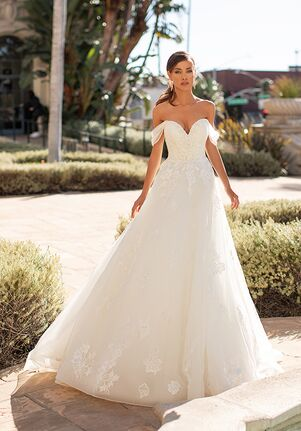 Moonlight Couture H1447 A-Line Wedding Dress