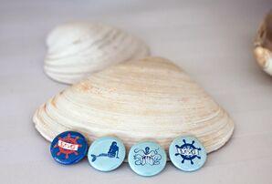Ocean-Inspired Buttons