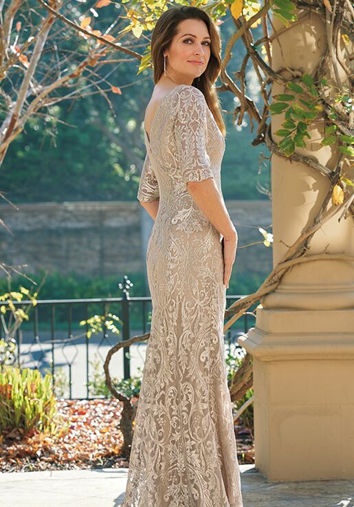 Jade Couture Mother of the Bride by Jasmine K208065 Ivory Mother Of The Bride Dress