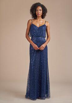 Belsoie Bridesmaids by Jasmine L224059 V-Neck Bridesmaid Dress