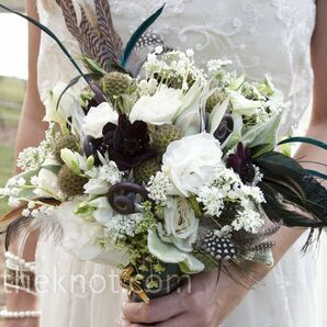 Eclectic Bridal Bouquet
