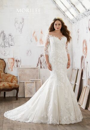 Morilee by Madeline Gardner/Julietta 3212 Mermaid Wedding Dress