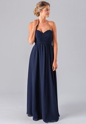Kennedy Blue Parker Strapless Bridesmaid Dress
