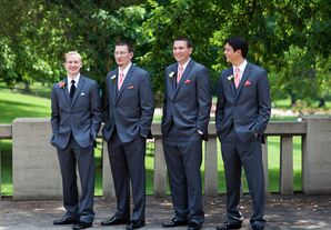 Fitted Gray Tuxedos