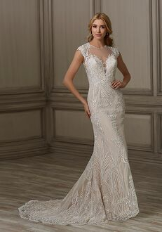 Adrianna Papell Platinum Elle Mermaid Wedding Dress