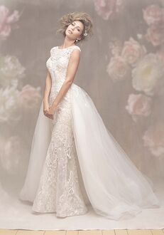 Allure Couture C463 Sheath Wedding Dress