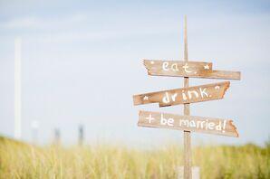 Driftwood Directional Wedding Sings