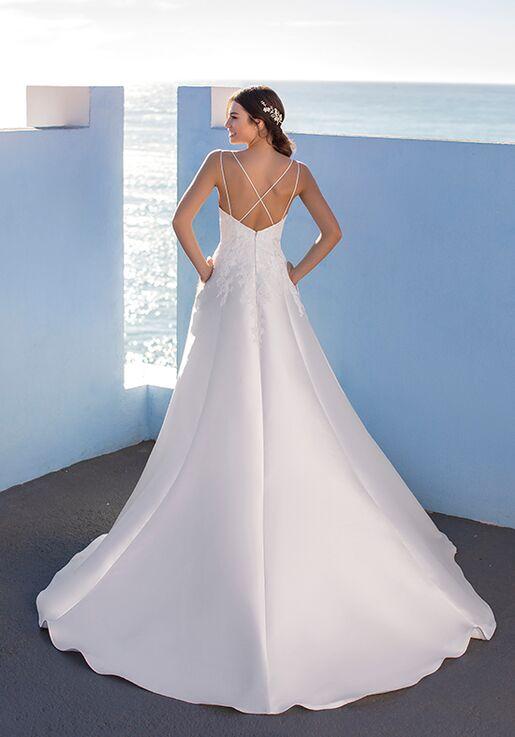 WHITE ONE CARMINE A-Line Wedding Dress