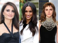 Penelope Cruz, Meghan Markle and Emma Watson